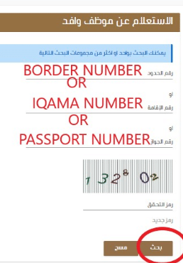 Iqama Red Green Colors.